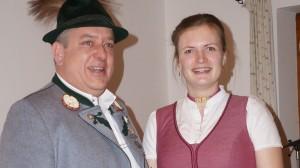 JHV am 28.02.20 Christian Hofbauer und Barbara Fischer Jugendleiter
